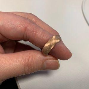 14k Rose Gold Ring 6mm Band